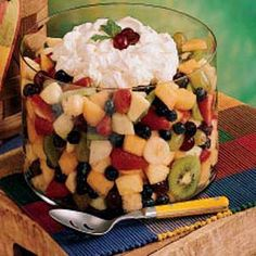 Festive Fruit Salad from Taste of Home