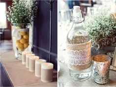 {Wedding Trends} : Burlap - a touch of rustic charm