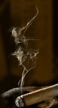 Et voila...see the dancer in the smoke