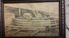 Admiral - St. Louis Riverfront. A Roscoe Misselhorn drawing.