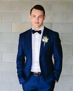 Inspiração para os noivos que têm vontade de usar gravata borboleta! Super fofo e bem gracinha!