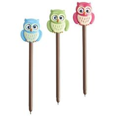 Owl Pens with Moving Wings- I'm kinda obsessed with owls so when I saw this, a totally must have! To make this even better the wings on the owls move!