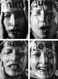 Mim quer sair de si, 1994, by Lenora de Barros