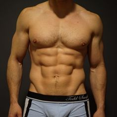 Todd Sanfied's torso in his own design briefs