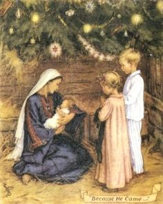 A Baby In A Manger Cicely Mary Barker (28 June 1895 – 16 February 1973)