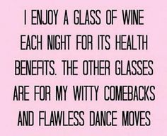 Love my wine!