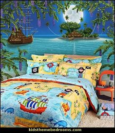 Pirate Themed Bedroom Ideas For Toddlers | Pirate Themed Bedrooms, Bedrooms  And Room