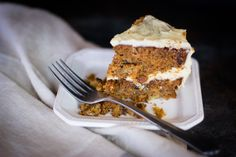 Carrot Cake made with Otto's Naturals Cassava Flour | Kitchen Vixxen