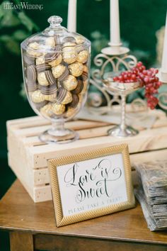 To bring to life Toronto couple Jen and Shana's vision of an ultra-glamorous garden-inspired wedding, Fab Fete combined luscious greenery, opulent golds. Wedding Inspiration, Wedding Ideas, Wedding Styles, Real Weddings, Place Card Holders, Treats, How To Plan, Elegant, Sweet Like Candy
