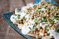 Fatteh - Pita with Chickpeas and Yogurt. You can check our recipe at >> http://www.alwadi-alakhdar.com/recipe/fatteh