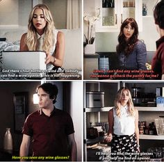 "#PLL 6x12 ""Charlottes Web"" - Hanna, Spencer and Caleb"