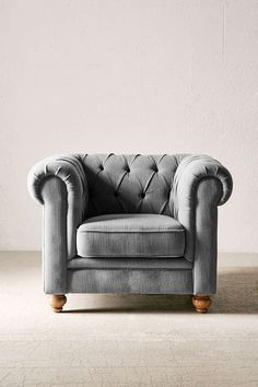 Sofia Chesterfield Chair - Urban Outfitters