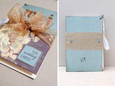 DIY: maak een boek voor je trouwkaarten | ThePerfectWedding.nl