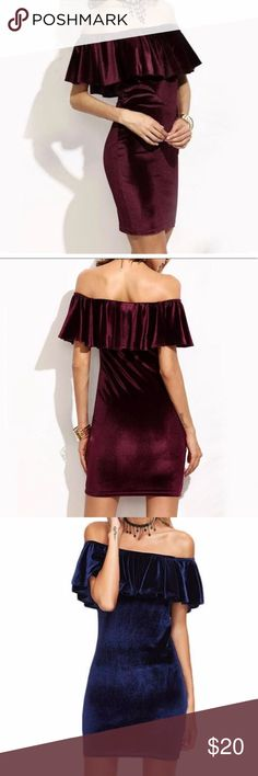 Spotted while shopping on Poshmark: BNWOT Maroon/Red Velvet Dress! Red Velvet Dress, Fashion Dictionary, Absolutely Gorgeous, A Boutique, Fashion Tips, Fashion Design, Fashion Trends, Brand New, Medium