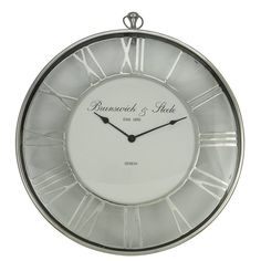 Oversized Round 60cm Wall Clock