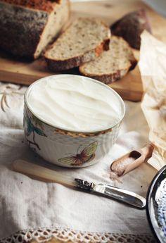 Házi kecske vaj / Home made cultured goat butter