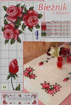 >Вышивка крестом...цветы...кайма для блузок и салфеток . Обсуждение на LiveInternet - Российский Сервис Онлайн-Дневников