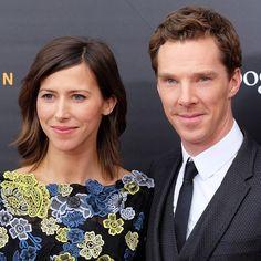 Pin for Later: Benedict Cumberbatch Et Sa Fiancée Font Leur Première Apparition Officielle