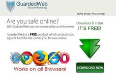 Guarded Web is a harmful adware program and is capable enough to modify the default browser settings (Chrome/IE/Firefox . it can perform so many malicious activities into your computer . it is adviced to remove Guarded Web to you system.