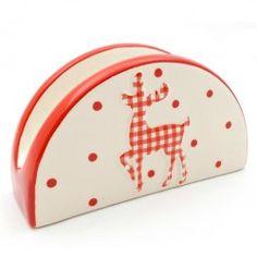 Suport servetele de masa Red Reindeer