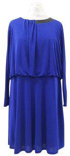 DKNY short dress Blue Blouson dress size 22 $95