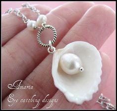 Art shell jewelry beady-little-things