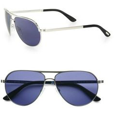 Tom Ford Eyewear Marko 58MM Aviator Sunglasses HELP A DAD OUT FOR FATHER'S DAY