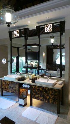 Bathroom at St Regis Bali