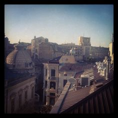 office view. Old City, Bucharest