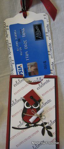 Two Tag Gift Card Holder by France Martin - Cards and Paper Crafts at Splitcoaststampers