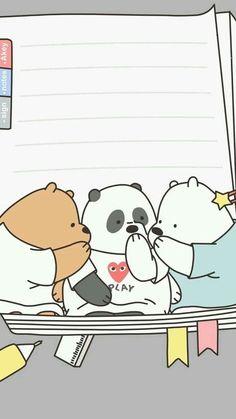 Cute Panda Wallpaper, Bear Wallpaper, Cute Disney Wallpaper, Kawaii Wallpaper, Cute Wallpaper Backgrounds, Wallpaper Iphone Cute, We Bare Bears Wallpapers, Panda Wallpapers, Cute Cartoon Wallpapers