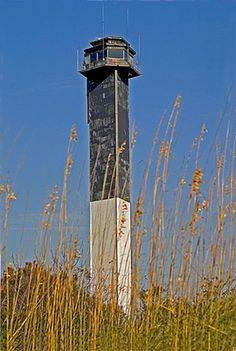 The lighthouse on Sullivan's Island is one of only two lighthouses in Charleston. South Carolina Lighthouses, Great Places, Places To See, Places Around The World, Around The Worlds, Sullivans Island, Isle Of Palms, Folly Beach, Beacon Of Light