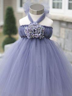 Custom Tutu Dresses-Flower Girl