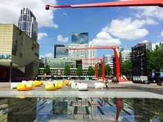 Theatre Square, Rotterdam - West 8