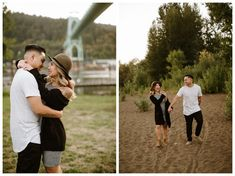 Cathedral Park engagement photos by Katy Weaver