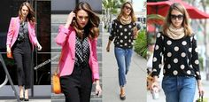 **SPRING IS HERE** Celebrate in style by joining Jessica Alba in Polka dots! VISIT OUR WEBSITE TO SEE OUR NEW COLLECTIONS NOW: http://www.lovepinkboutique.com/new?page=1