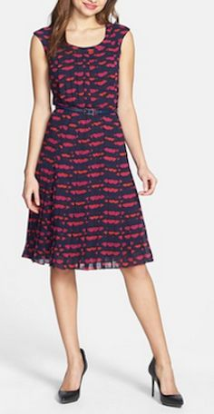 Cute lip print dress #nsale http://rstyle.me/n/mmhxrnyg6