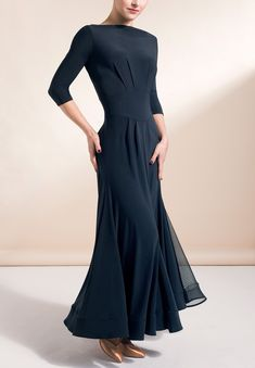 Chrisanne Clover Imperial Ballroom Dress | Dancesport Fashion @ DanceShopper.com