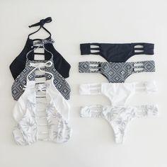 Black & White Cata Bikinis