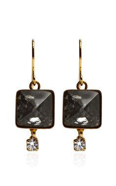 Stone Drop Earrings by Marni - Moda Operandi