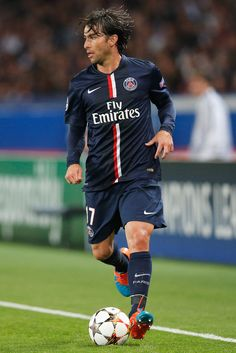Maxwell of PSG in action during the Group F UEFA Champions League match between Paris Saint-Germain v FC Barcelona held at Parc des Princes on September 30, 2014 in Paris, France.