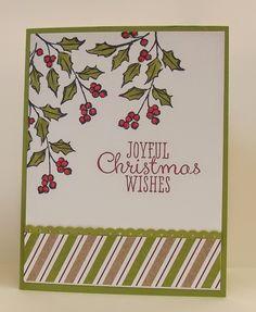 Joyful Christmas, Watercolor Winter,Blendabilities,Stampin' Up