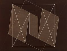 Josef Albers Transformation of a Scheme No. 19, 1950 machine engraving on brown laminated plastic 17 × 221⁄2 in. (43.2 × 57.2 cm) 1976.8.1725