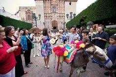 Callejoneada San Miguel de Allende Mexico Al Fresco Wedding http://www.charleysmithweddingphotography.com/