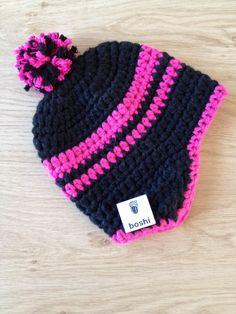 MyBoshi beanie using myboshi yarns and simple crochet stitches.