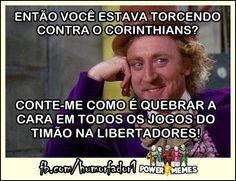 #Corinthians campeão. Choraê!