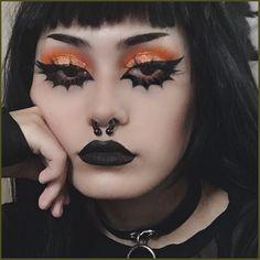 Mime Makeup, Punk Makeup, Edgy Makeup, Grunge Makeup, Gothic Makeup, Grunge Goth, Hair Makeup, Face Makeup Art, Pastel Goth Makeup