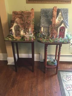 AC Construction: The English Cottage Fairytale Cottage, Storybook Cottage, Storybook Homes, English Cottage Style, English Cottages, Wendy House, Fairy Doors, Fairy Houses, Putz Houses