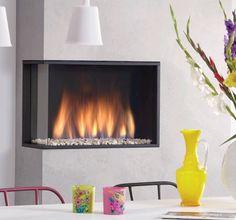 Global Fires 60 Corner M #Kampen #Fireplace #Fireplaces #Interieur #Kachelplaats