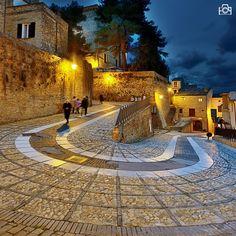 medieval village Abruzzo Loreto Aprutino #TuscanyAgriturismoGiratola